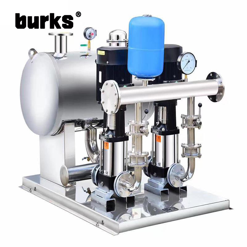 The burks no negative frequency constant pressure water supply equipment