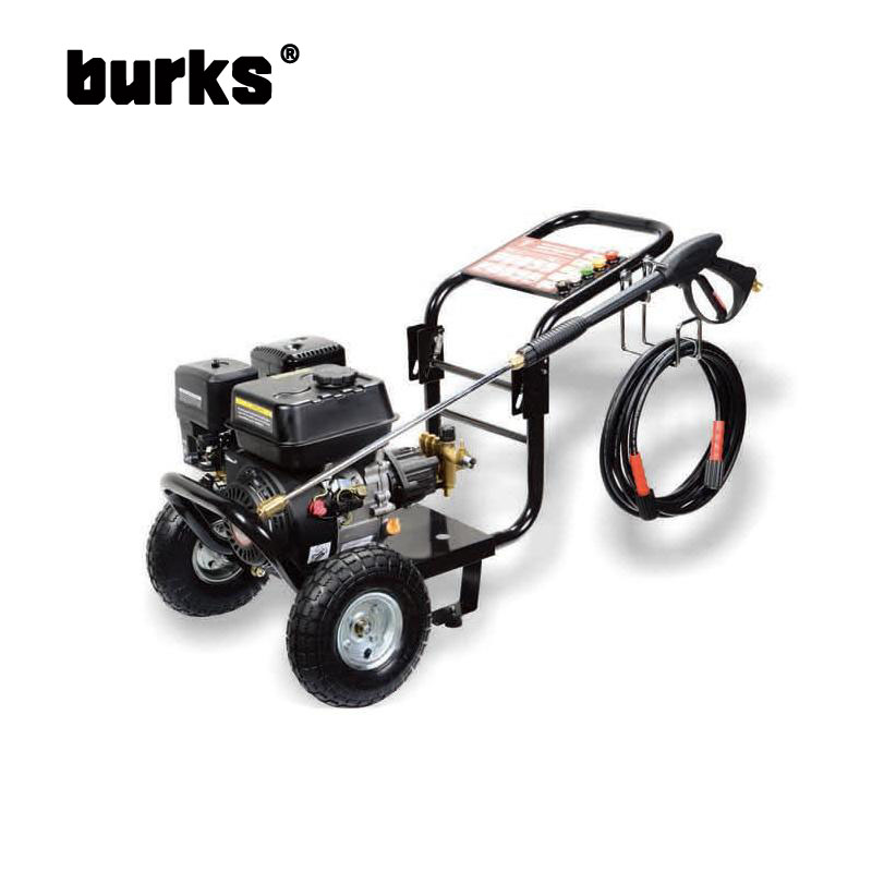 The transmission burks Sino US BKS-A2800 6.5 horsepower commercial grade gasoline engine high pressure cleaning machine