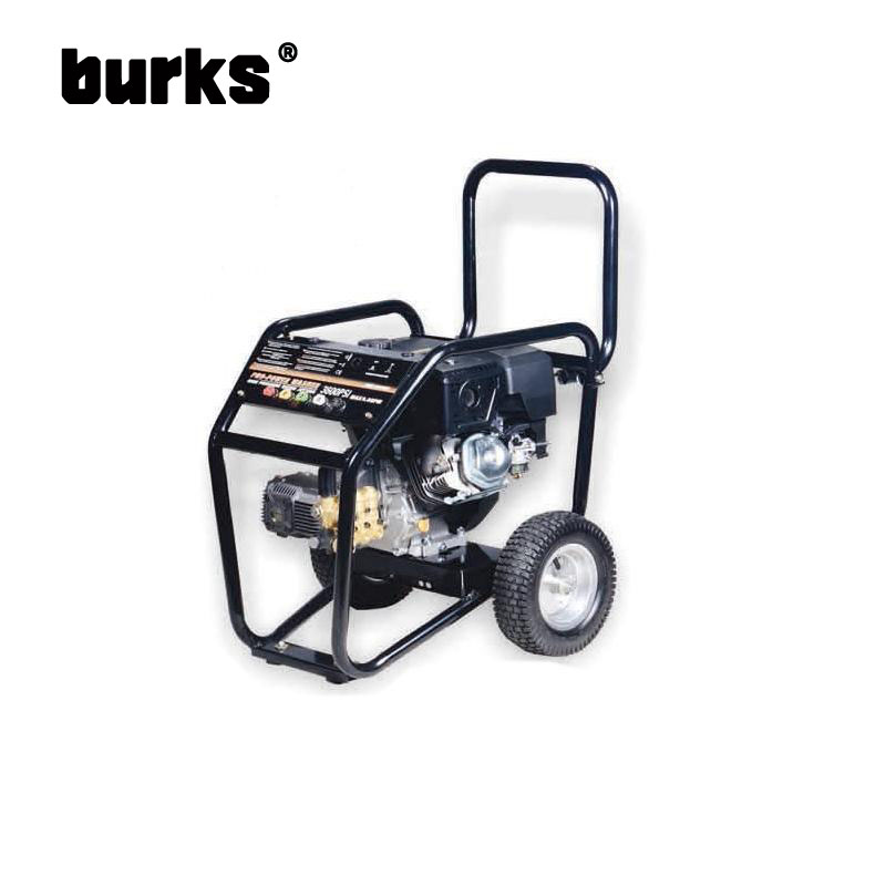 The BKS-Z-3400 BKS-Z-3600 9-13-14 drive burks HP commercial grade gasoline engine high pressure cleaning machine