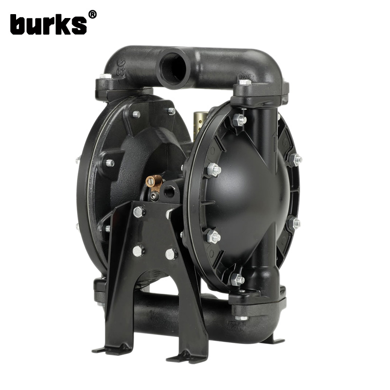 The burks BQ series pneumatic diaphragm pump